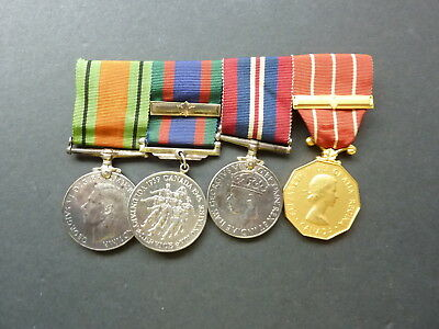 WWII Canadian Four Medal Group