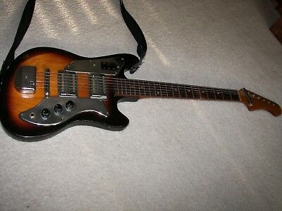 Vintage 1950's Teisco Electric Guitar Made In Japan