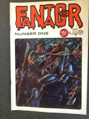 Fantagor #1 (1971, Last Gasp) by Richard Corben. Second Printing, Very Good-