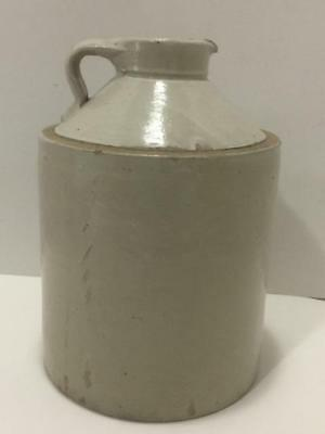 Rare Vtg Bottom Signed 1 Gallon Handled Red Wing MN Stoneware Cone Top Syrup Jug