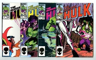 Incredible Hulk #296,297,298,299 Avg NM New Marvel Bronze Copper Collection