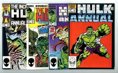 Incredible Hulk Annuals #12,13,14,15 Avg NM- to NM New Marvel Copper Collection