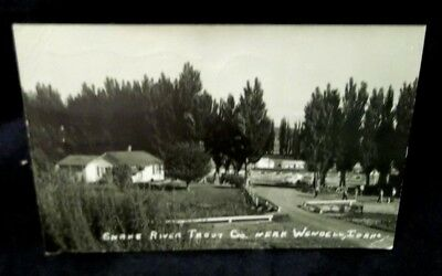 1959,snake River Trout Company Near Wendell,idaho,real Photo