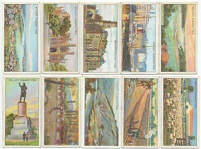 WILLS UK - 1915 : Overseas Dominions (Australia) Complete Set (50) Cig. Cards