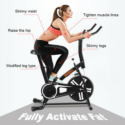 Stationary Indoor Exercise Bike Cycling Fitness Cardio Training Workout Health