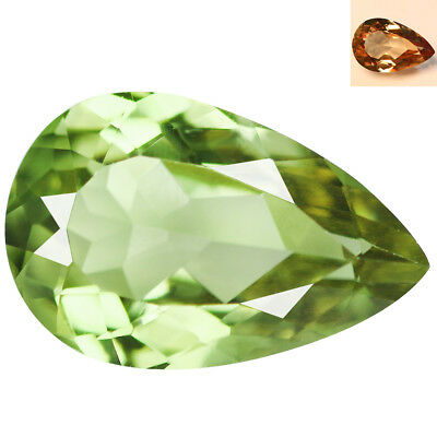 2.91Ct Outstanding Pear Cut 12 x 8 mm AAA Color Change Turkish Diaspore