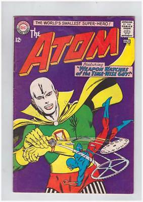 Atom # 13 Weapon Watches of the Time-Warp ! grade 4.0 scarce book !!
