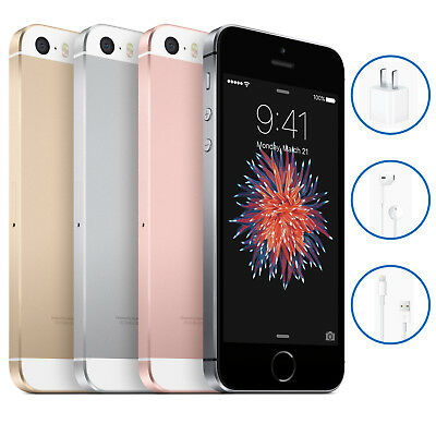 Apple iPhone SE 16GB 32GB Various Colours Smartphone Unlocked 12M Warranty