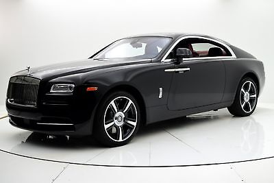 Wraith -- Certified 2015 Rolls-Royce Wraith, One owner, Wraith Package,Driven 22,988 Miles