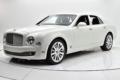 Mulsanne -- Certified 2015 Bentley Mulsanne, Mulliner Driving Specification, One Owner