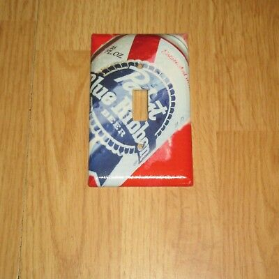 Vintage Style PABST BLUE RIBBON BEER Light Switch Cover Plate