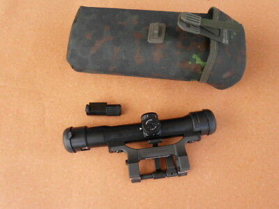 Zeiss Hensoldt  Scope ZF 4x24 Z24 included STANAG  mounting with lighting unit