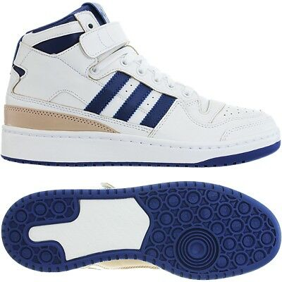 Top Weiß Basketball Forum Retro Adidas Homme Mid N8m0Ovnw