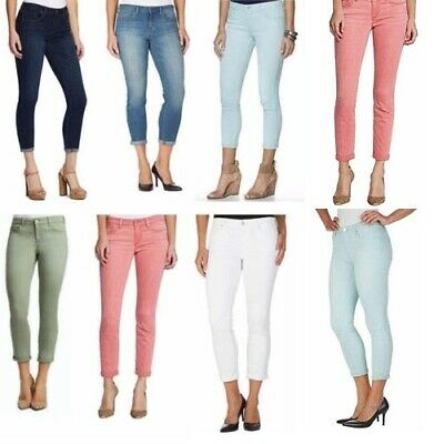 Jessica Simpson Women's Rolled Crop Skinny Jeans, Soft Sculpt, Many Colors Sizes