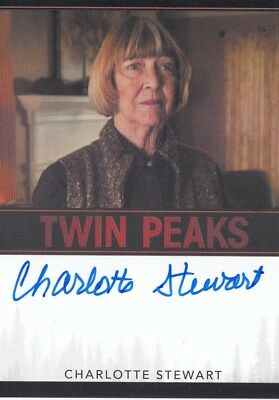 Twin Peaks (2018) - Charlotte Stewart (Betty) Autograph Limited Event Series Vl