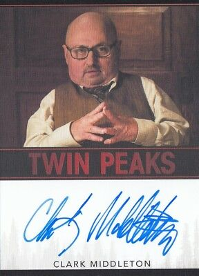 Twin Peaks (2018) - Clark Middleton (Charlie) Autograph Limited Event Series L