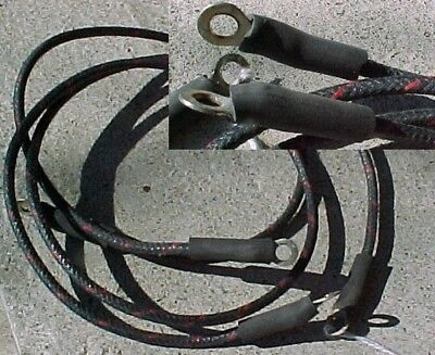 1936 to 1953 Indian Motorcycle Two Wires Switch to Coil & Coil to Distributor