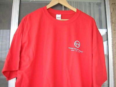Las Vegas CASINO T SHIRT- 2XL New! Bright Red Green Valley Ranch 100% Cotton