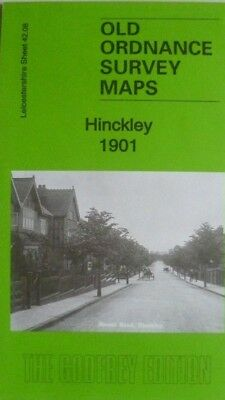 Old Ordnance Survey Maps Hinckley Leicestershire 1901 Sheet 42.08 New