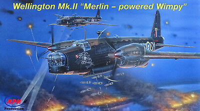 "MPM 72535 Wellington Mk.II ""Merlin´s Powered Wimpy"" in 1:72 LIMITED"