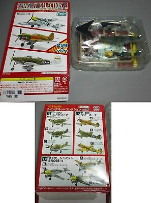 F-Toys Wing Kit Collection Vol 7 - Flugzeug - BF109E-4 - Version 3C - 1/144