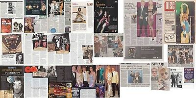 ROD STEWART : CUTTINGS COLLECTION -magazine articles- adverts