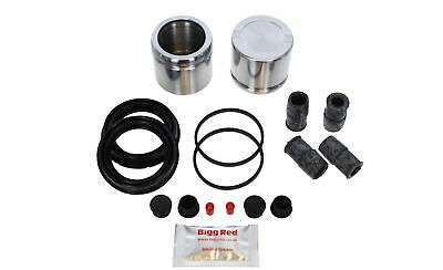 Volvo S80 Front L & R  Brake Caliper Seal & Piston Repair Kit (BRKP57)