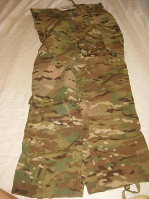 Multicam Button Fly Trousers Flame Resistant Ira Medium Regular Nwt 9860