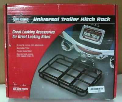 NEW Show Chrome Accessories 52-828 Universal Trailer Hitch Rack $150