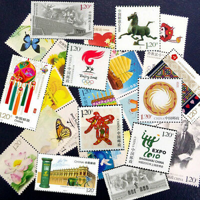 Assorted Worldwide China Stamp Paper Collection DIFFERENT SHEETS-Random Send