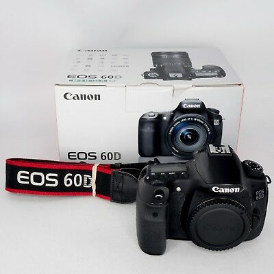 Canon EOS 60D 18.0MP Digital SLR Camera (Body Only)