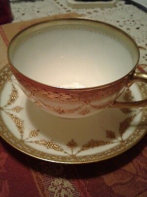 Dresden  Coffee Cup and Saucer in A+ condition.