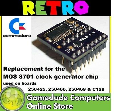 C64 TOLB PAL MOS 8701 IC Replacement for C64, SX-64, the C64c, C64r & C128 [03]