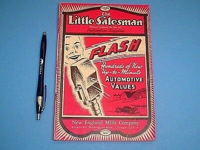 VINTAGE LATE 1930's THE LITTLE SALESMAN AUTOMOTIVE SUPPLIES CATALOG 164 PGS