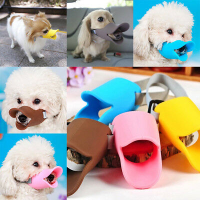 Home Puppy Anti Barking Duck Muzzle Face Mouth Guard Pet Dog Protection S-L US