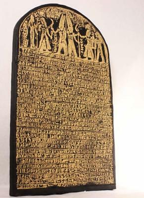 MERNEPTAH STELE 1208 BC Egyptian Relief Tablet - earliest mention of 'Israel'