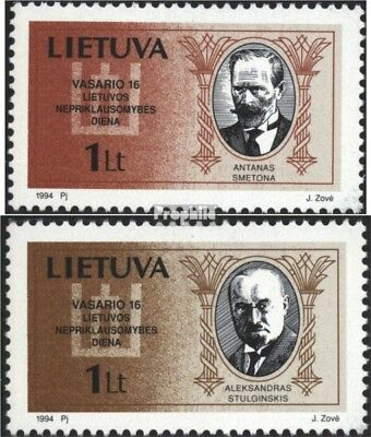 Lithuania 548-549 (complete issue) unmounted mint / never hinged 1994 Independen