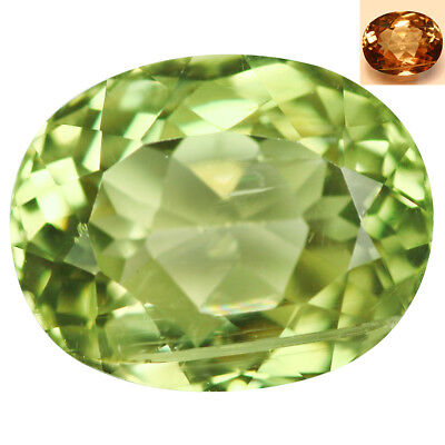 4.39Ct Extreme Oval Cut 11 x 9 mm AAA Color Change Turkish Diaspore