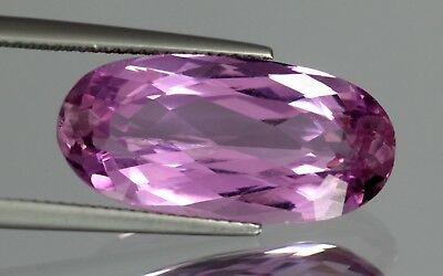 Flawless 15.15 Cts Natural Oval Cut Afghanistan Pink Patroke Kunzite No Reserve