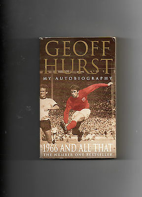 West Ham United - Geoff Hurst Autobiography - Stoke City, England