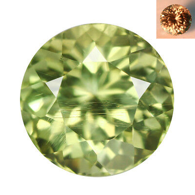 1.76Ct IF First-class Round Cut 7 x 7 mm AAA Color Change Turkish Diaspore