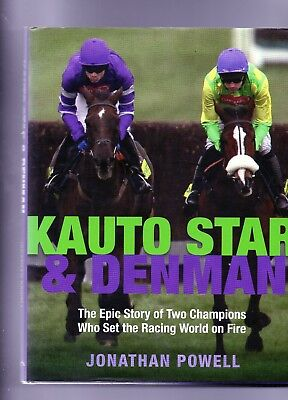 Horse Racing - Denman & Kauto Star By Jonathan Powell
