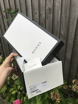 GUCCI Authentic Sturdy shoes cardboard box empty from mens shoes 13/20/36cm