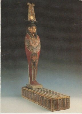 Germany - Wooden Statuette of the God of the Dead (Post Card) 1960's