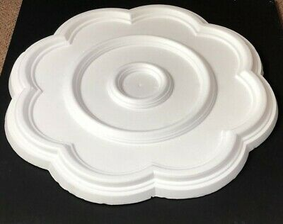 Nested Ceiling Rose Polystyrene Easy Fit Very Light Weight Starting from £10.99