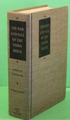 Vintage World War 2 Book THE RISE OF THE THIRD REICH Hardcover