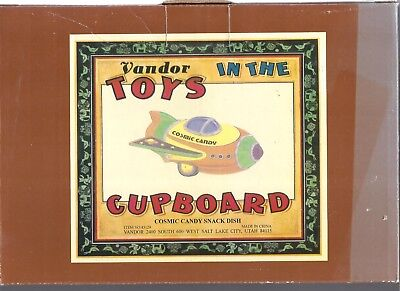 Vandor Toys in the Cupboard Cosmic Candy Snack Dish