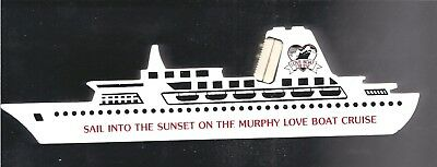 Murphy Love Boat Cruise Paperweight