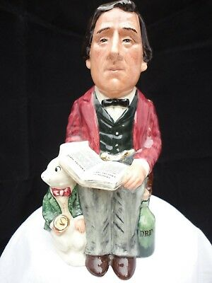 Royal Doulton Character Toby Jug. D7078. Lewis Carroll. Limited Edition 27/1500.