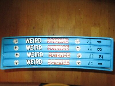 4 Volumes The Complete Weird Science (EC Comics)